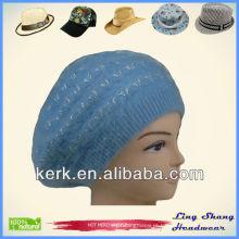 Cabelo azul do coelho e senhoras Chapéus para chapéus das mulheres das mulheres, LSA29