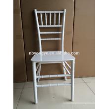 Monobloc ONE PIECE cadeira branca de resina chiavari