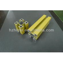 perfiles de construcción, perfiles de extrusión de aluminio 6061 T6 y 6063