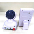 PTZ Zoom 2.4GHZ Baby Monitor with Temperature Sensor
