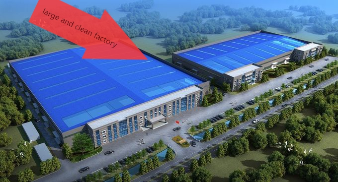 large and clean factory of double glazing machine manufacturer