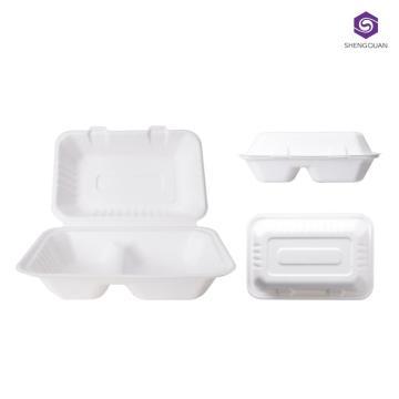 boîte à lunch jetable écologique boîte à lunch papier jetable