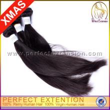 Горячие продать 2014 новый продукт 7а класс 100% Виргинские Оптовая Перуанских волосы ткачество