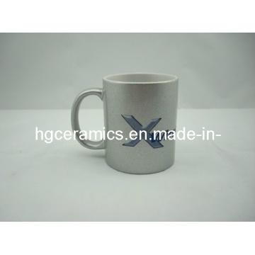 11oz Silver Sublimation Mugs, Gold/Silver Sublimation Mug