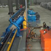 Lagerhausaufbewahrung Rack aufrecht Rollformmaschine