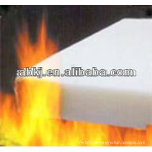 Fireproof thermal bonded polyester wadding