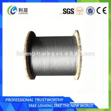 8x19s + Fc Linear Contact Lay Steel Wire Rope