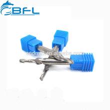 Brocas de acero del paso del carburo de las herramientas de corte del CNC de BFL para la fresadora