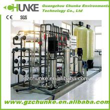 Máquina de tratamiento de agua de sistema de RO de acero inoxidable Ck-RO-2000L