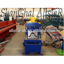 Useful galvanized roof ridge cap machine /metal roof ridge cap roll forming machine