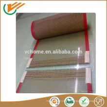 Grado de la comida China correa transportadora de caucho superior correa transportadora de acoplamiento de fibra de vidrio recubierta de teflón ptfe de alta calidad
