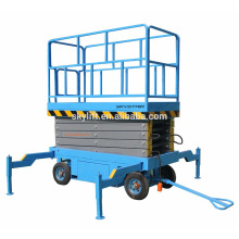 manlift mobile à quatre roues