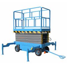 manlift móvel de quatro rodas