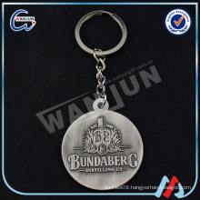 unique keychains for men/round metal keychain