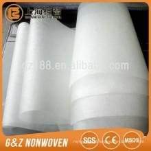 Tecido não tecido hidrofóbico PLA spunbond para máscara facial