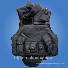 Full Body Bullet Proof tactical vest collar