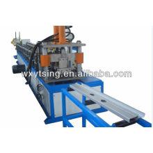 Máquina formadora de rollos de metal YTSING-YD-0488 para postes de acero galvanizado