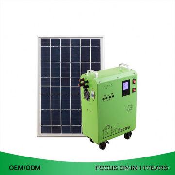 Портативный энергии 100W Солнечный Домашний генератор системы Многофункциональная Портативная электростанция