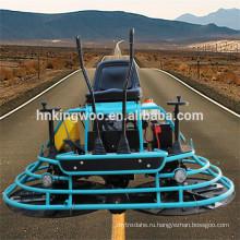 Ездить на затирочной машиной с двигателем Honda