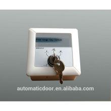 Interrupteur à clé DEPER pour porte automatique