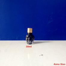 30ml Unique Shape Glass Bottle for Nail Polish Oil