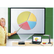 Classroom Document Camera Work with Interactive Smart Whiteboard