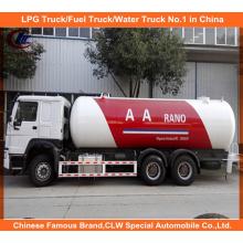 AA Rano 24, 800 litros GLP caminhões Bobtail 12mt para o mercado da Nigéria