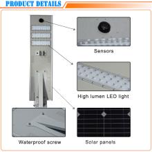 Alumbrado público solar integrado ahorro de energía de alto rendimiento de 60W LED
