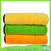 Thicken fluffy Car Polishing Buffing 500gsm Cloth