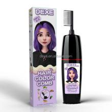 Dexe Top Selling Make Hair Color Change Magic Comb Black Hair Shampoo Vietnam Hair Directly Semi-permanent Convenient 100% High