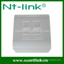 French type dual port shutter plate 80*80mm