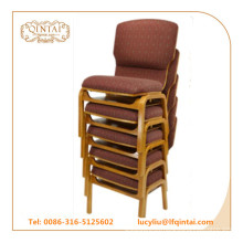 Material de la tela y muebles comerciales Silla de iglesia de uso general