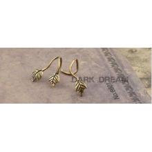 Brincos do envoltório da orelha-manguito da forma da jóia da mulher