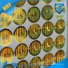 Holograma anti-falsificación anti-falsificación de alta calidad