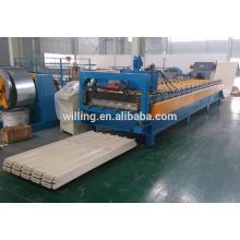 Stahldach-Profiliermaschine