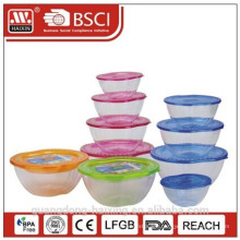 SET OF 4 Plastic Serving Bowl
