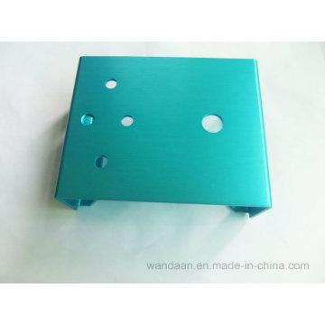 Запасная металлическая листовая штамповка OEM с анодированным цветом