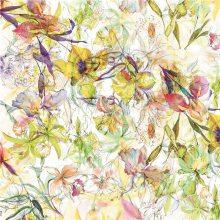 100% tela de seda de impresión de satén digital para el paño de las mujeres (TLD-0045)