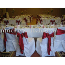 100%polyester chair cover,banquet/hotel chair cover, chair sash
