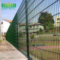 PVC coated used Double Horizontal Wire Mesh