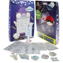 art et artisanat diy peinture 3d éducatif animaux papier puzzle