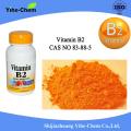 80% de poudre de vitamine B2 soluble dans l'eau pure