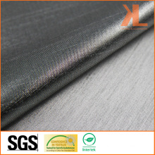 Polyester Anti-UV Inherently Fire Retardant Fireproof Metallic Silver Lurex Fabric