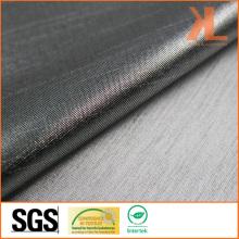 Полиэстер Anti-UV Inherently Fire Retardant Огнестойкая металлическая серебряная ткань Lurex