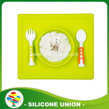 Good quality silicone placemat with bowl for baby