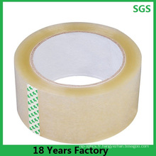 Bande activée par l'eau acrylique faite sur commande, bon marché Transparen / bande claire pour le carton Sealling