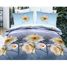 100% полиэстер Microfiber щеткой двойной размер Китай текстильной ткани Bed Sheet Set