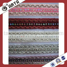 rhinestone sofa curtain fringe lace trims