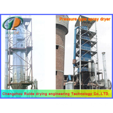 Dye spray drying tower