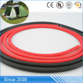 Blank Colored Braided Round PVC Coated Nylon Webbing Rope For Dog Leash